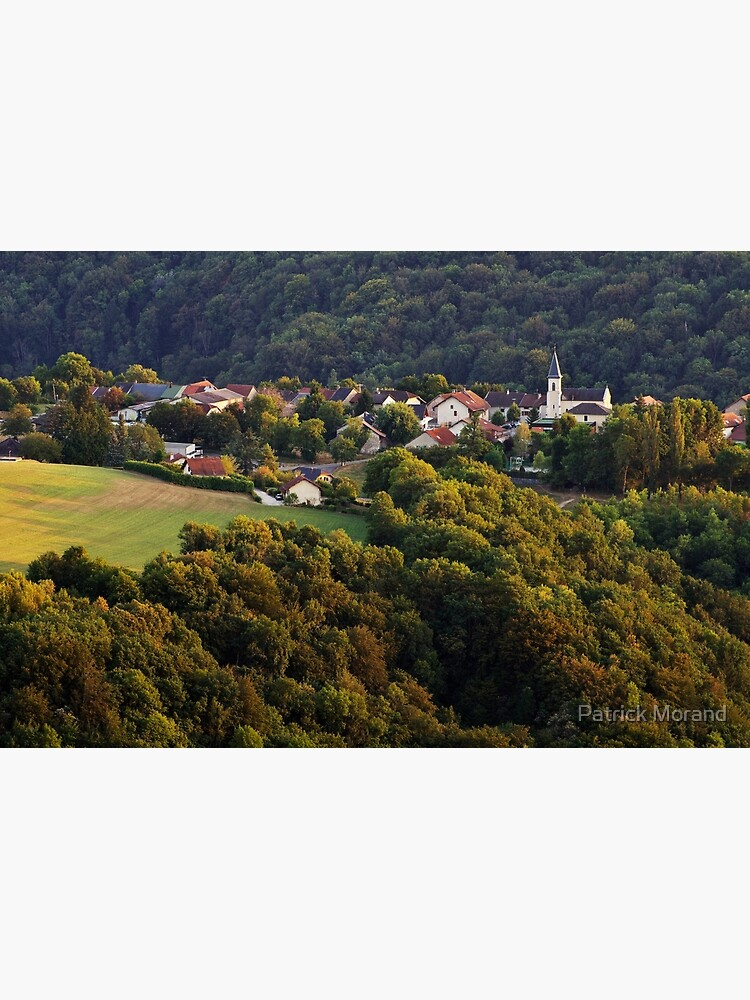 Evening light on Musieges village by patmo