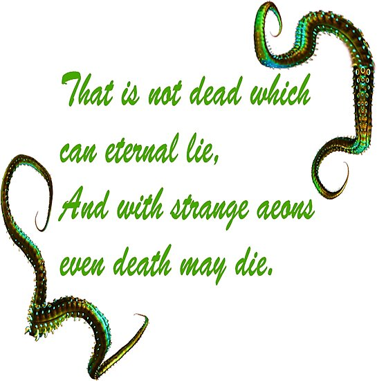 H.P. Lovecraft Quote by Faith2393
