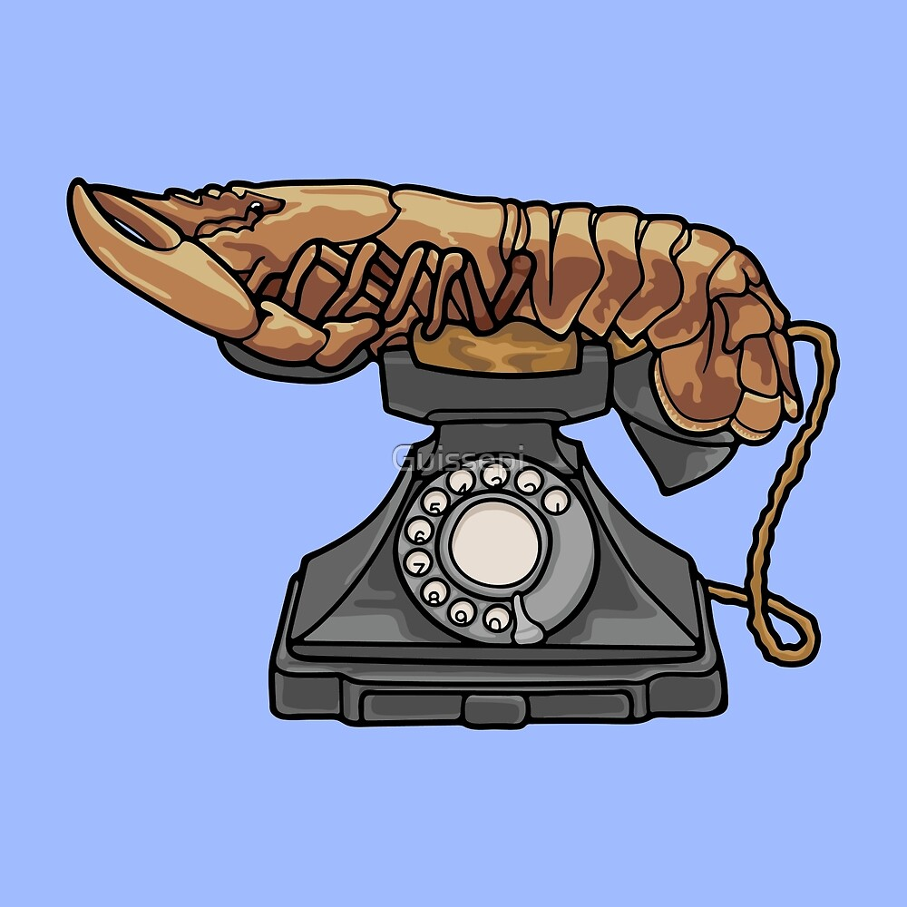 Lobster Phone by Guissepi