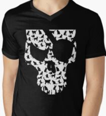skull and cats  T-Shirt