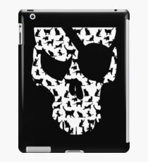skull and cats  iPad Case/Skin