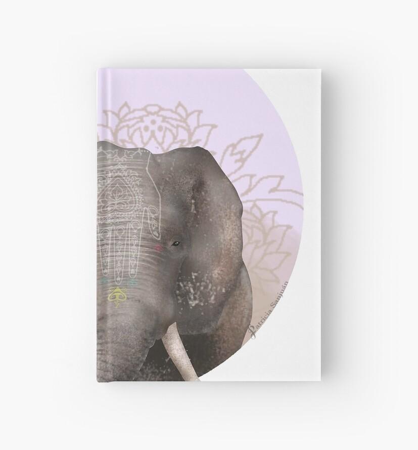 Elephant of Savannah by patriciasanjuan
