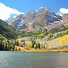 The Maroon Bells by Eric Glaser