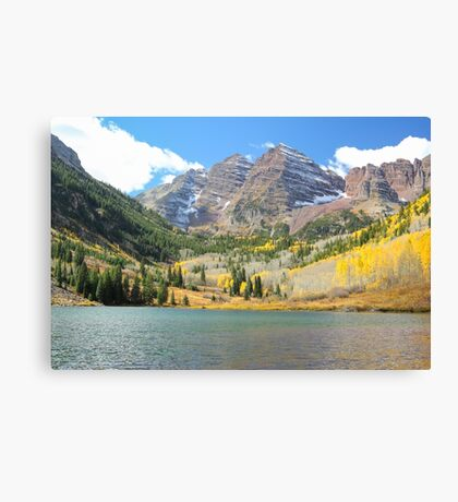 The Maroon Bells #1 Canvas Print