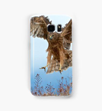Wild NZ Kahu Hawk attack Samsung Galaxy Case/Skin