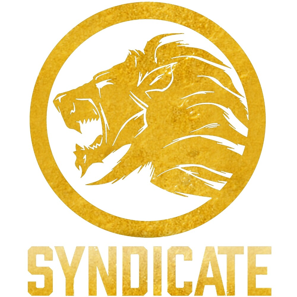 Syndicate lion by Travis Edwards