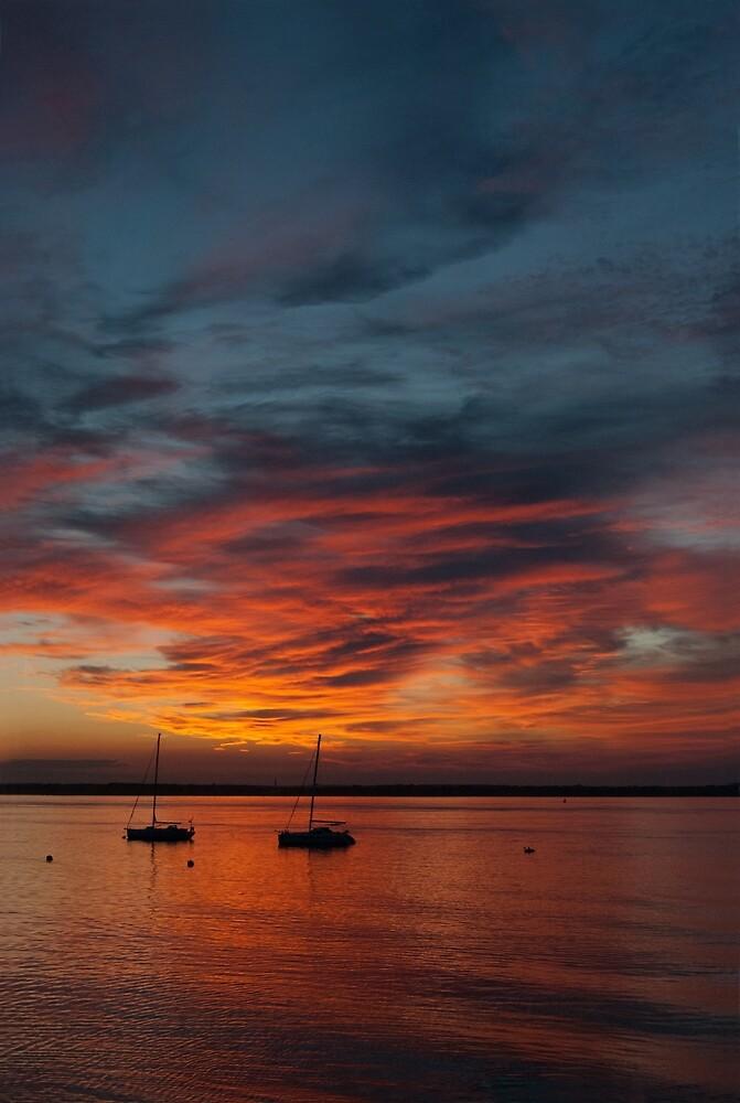 Dorset Sunset by Janice Heppenstall