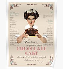 Chocolate Cake Poster