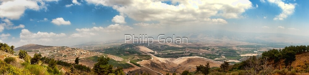 A brief glimpse across the border by Philip Golan