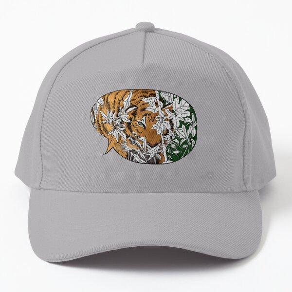 Tigers in the back yard Baseball Cap