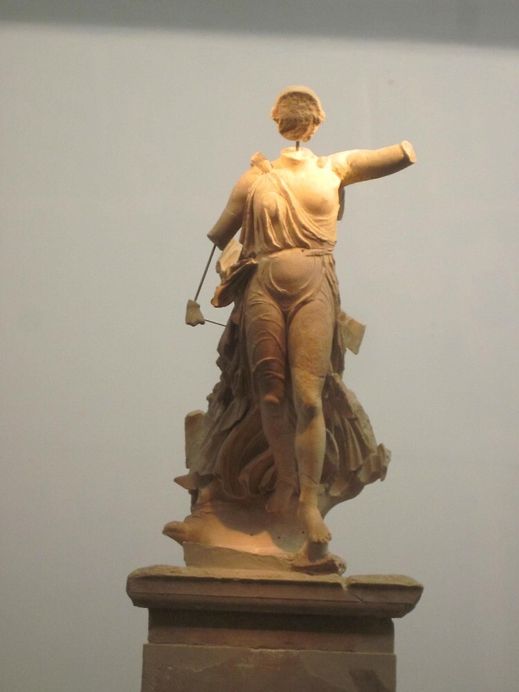 ancient greek sculpture by bruno1234