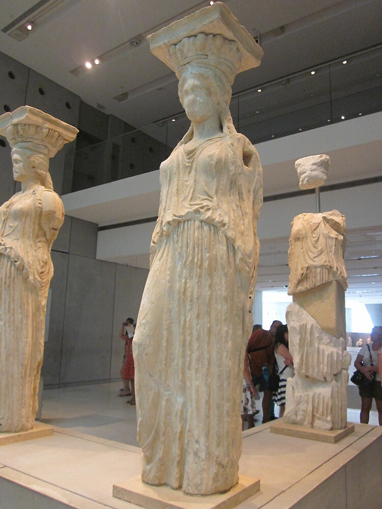 muses in greece by bruno1234