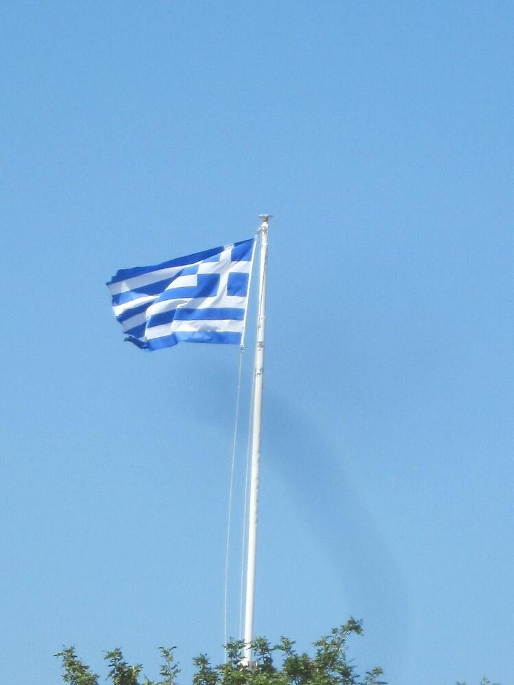Greek flag by bruno1234