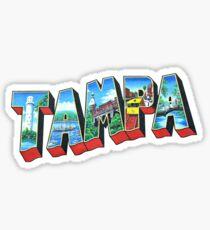 Pegatina Tampa