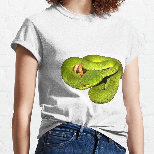 The white-lipped pit viper Classic T-Shirt