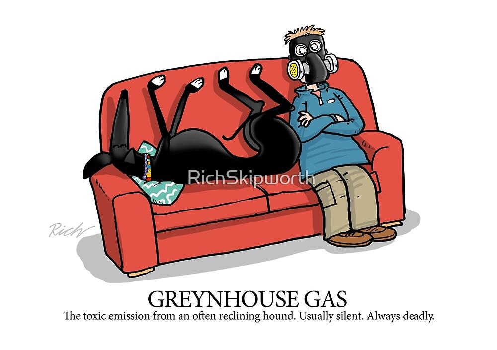 Greyhound Glossary: Greynhouse Gas by RichSkipworth