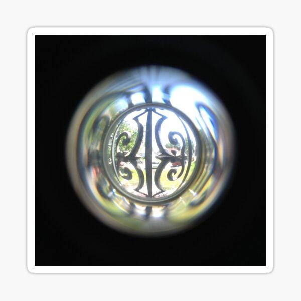 Through the Peephole Sticker