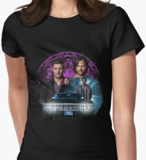 Supernatural The Roads Journey Women's Fitted T-Shirt