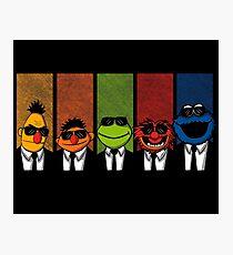 Reservoir Muppets V2 Photographic Print