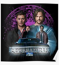 Supernatural The Roads Journey Poster