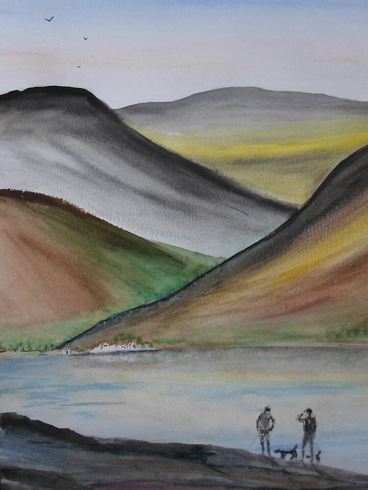Abstract Lakeland by Beswickian