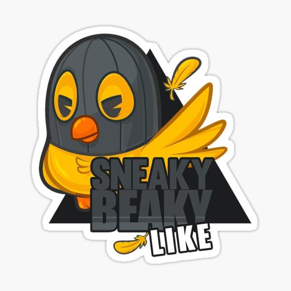 CS: GO Sneaky Beaky Like Pegatina