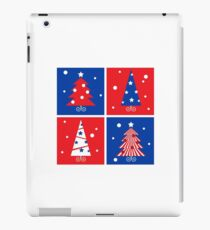 Christmas Trees design blocks icons iPad Case/Skin