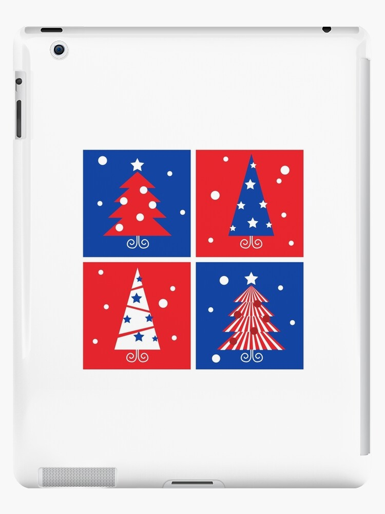 Christmas Trees design blocks icons by Bee and Glow Illustrations Shop