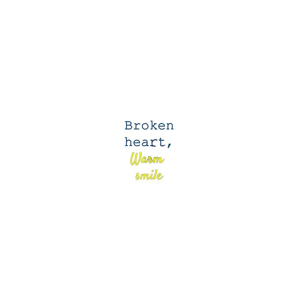 broken heart, warm smile by Nekofluid