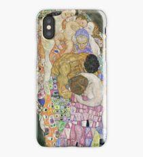 Gustav Klimt - Death And Life 1916 iPhone Case/Skin