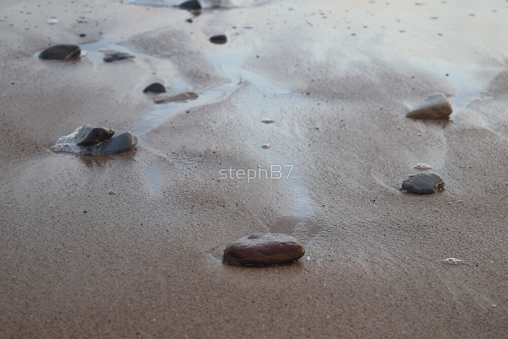 Stones in the sand 2 by stephB7