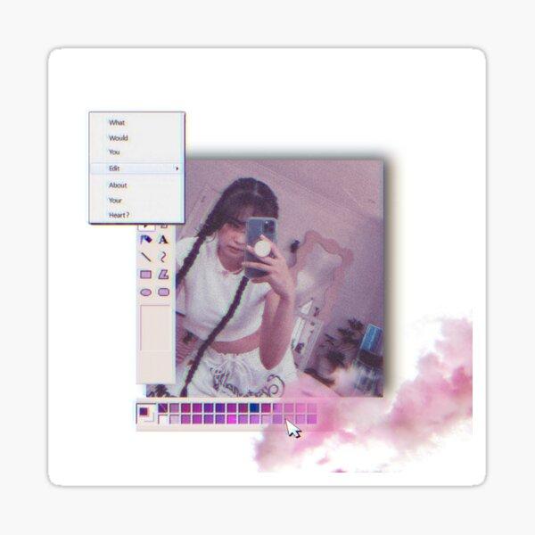 JENNIE~ cyber pink Sticker