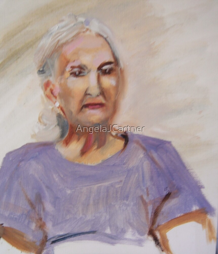 Portrait of a Mother I by AngelaJCartner