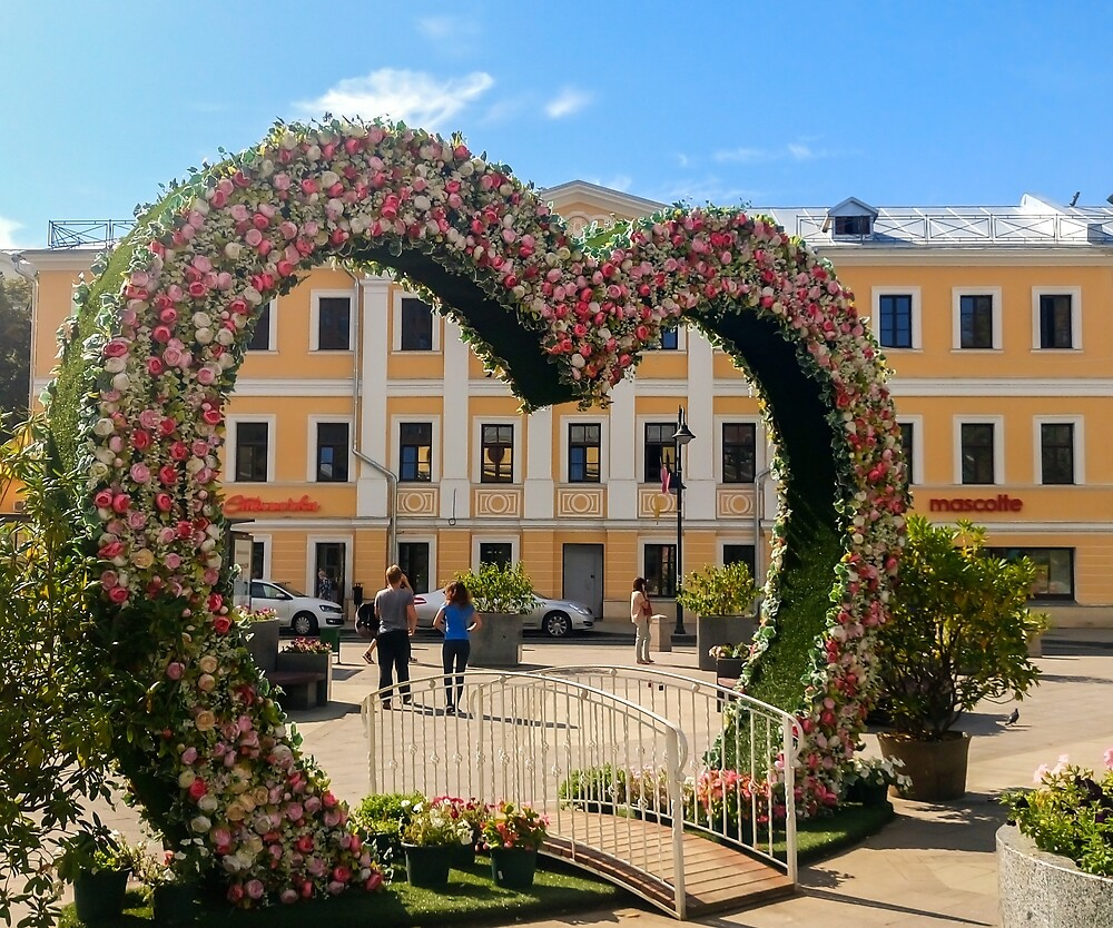 floral heart by lomanov