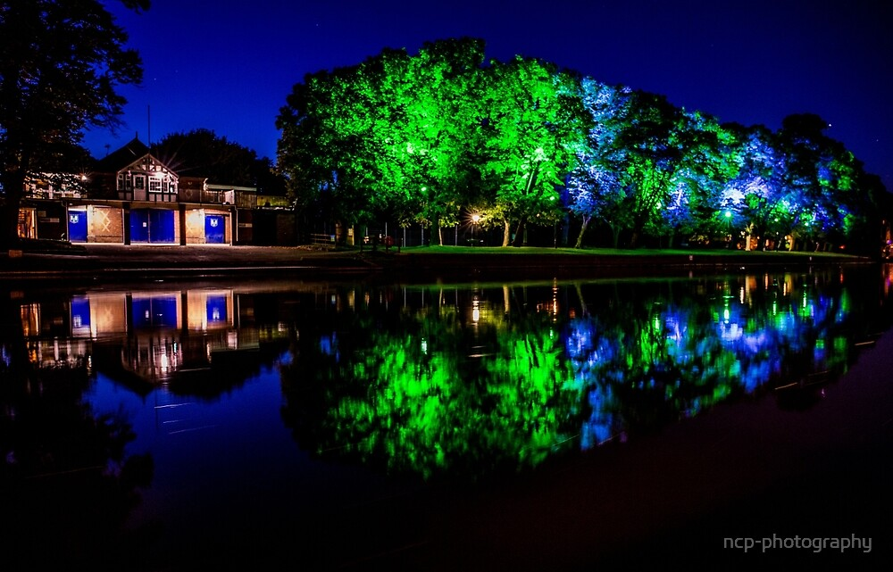 Night - The Boathouse by ncp-photography