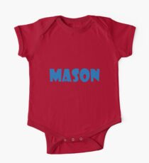 Mason (Blue) One Piece - Short Sleeve