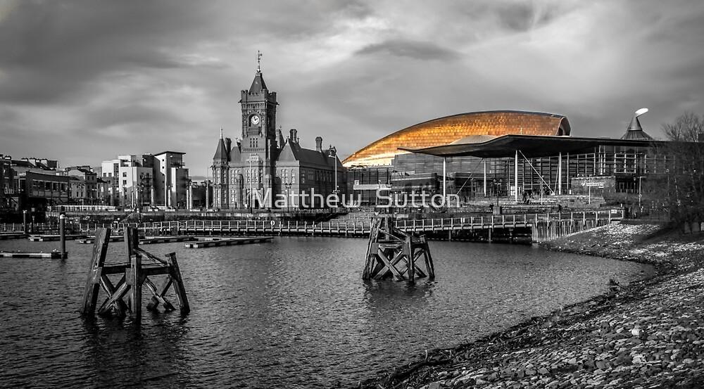 Cardiff Bay by MATTHEW SUTTON