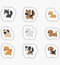Chibi-Puppen Sticker