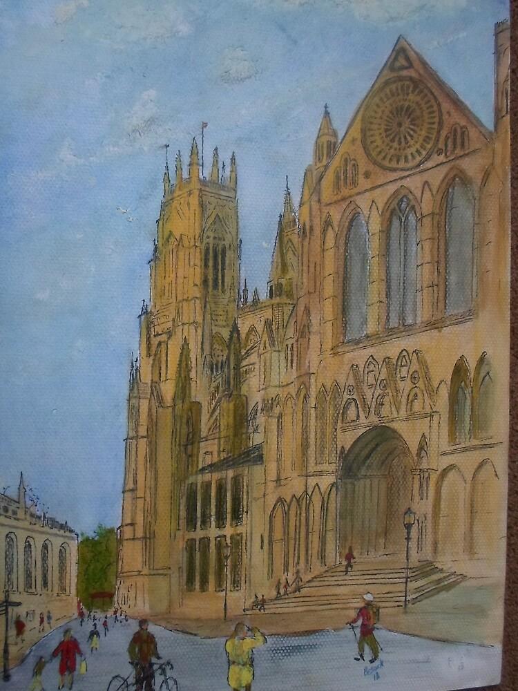 Yorkminster  by Beswickian