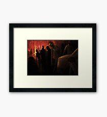 The Ravenous Undead Framed Print