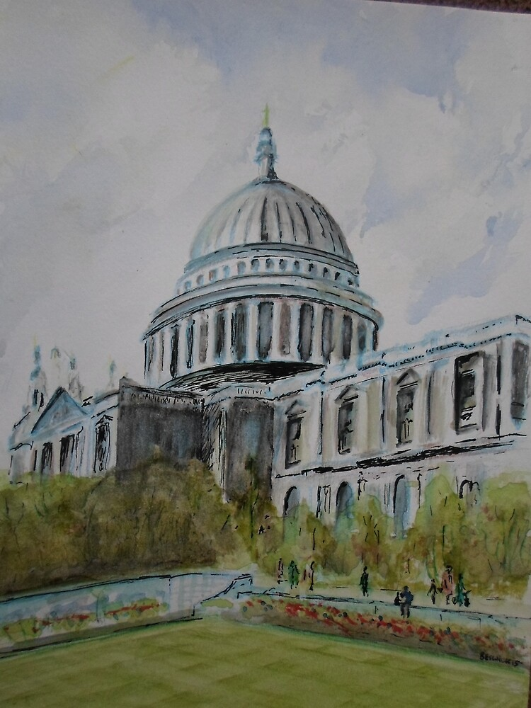 Saint Paul's Cathedral, London by Beswickian