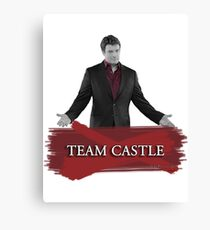 Team Castle Canvas Print