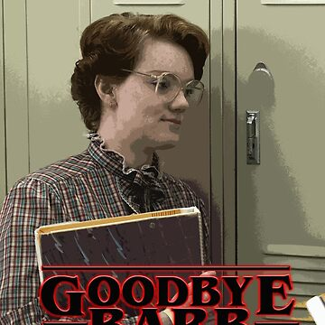 Stranger Things Goodbye Barb All Over Print by ClassicClothing