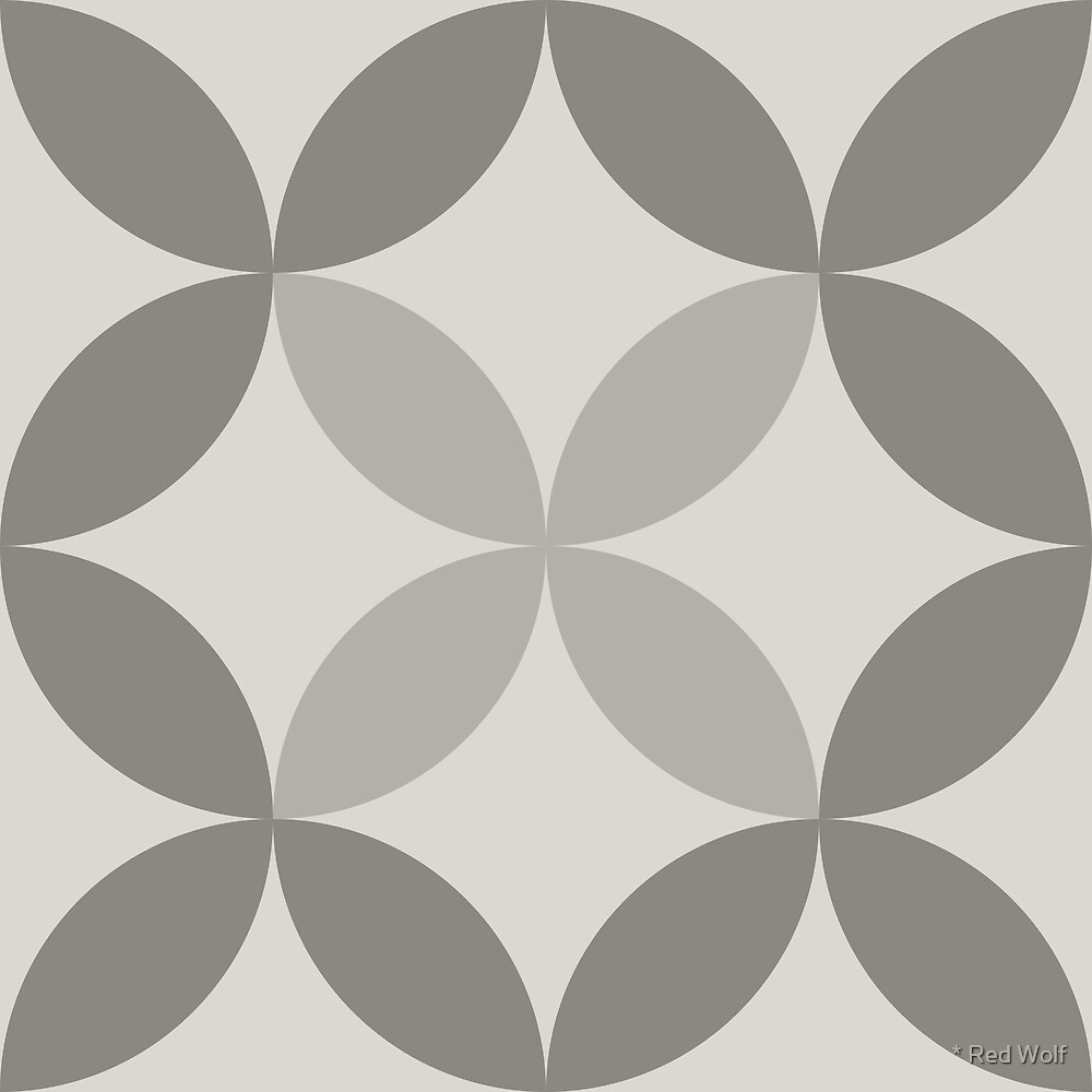 Geometric Pattern: Circle Nested: Portland by * Red Wolf