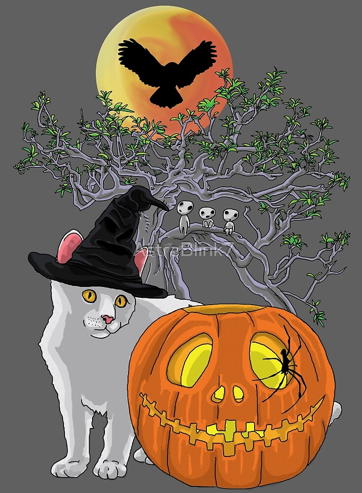 Cat Halloween by AstraBlink7
