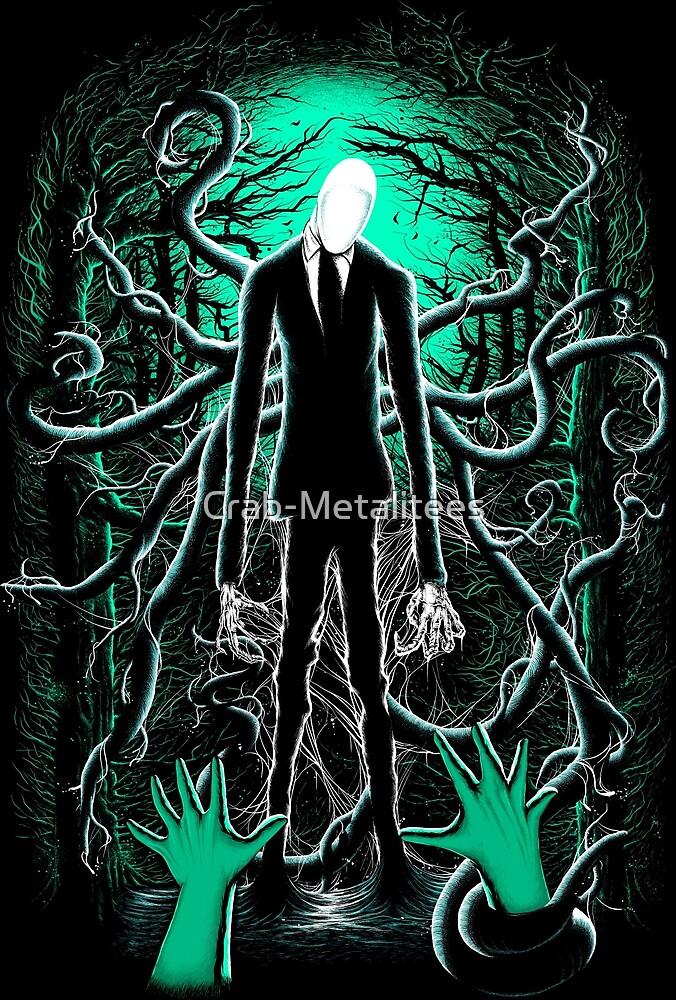 Slender Man 01 by Crab-Metalitees