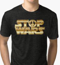 Star Wars Parody - Stop Wars  Tri-blend T-Shirt