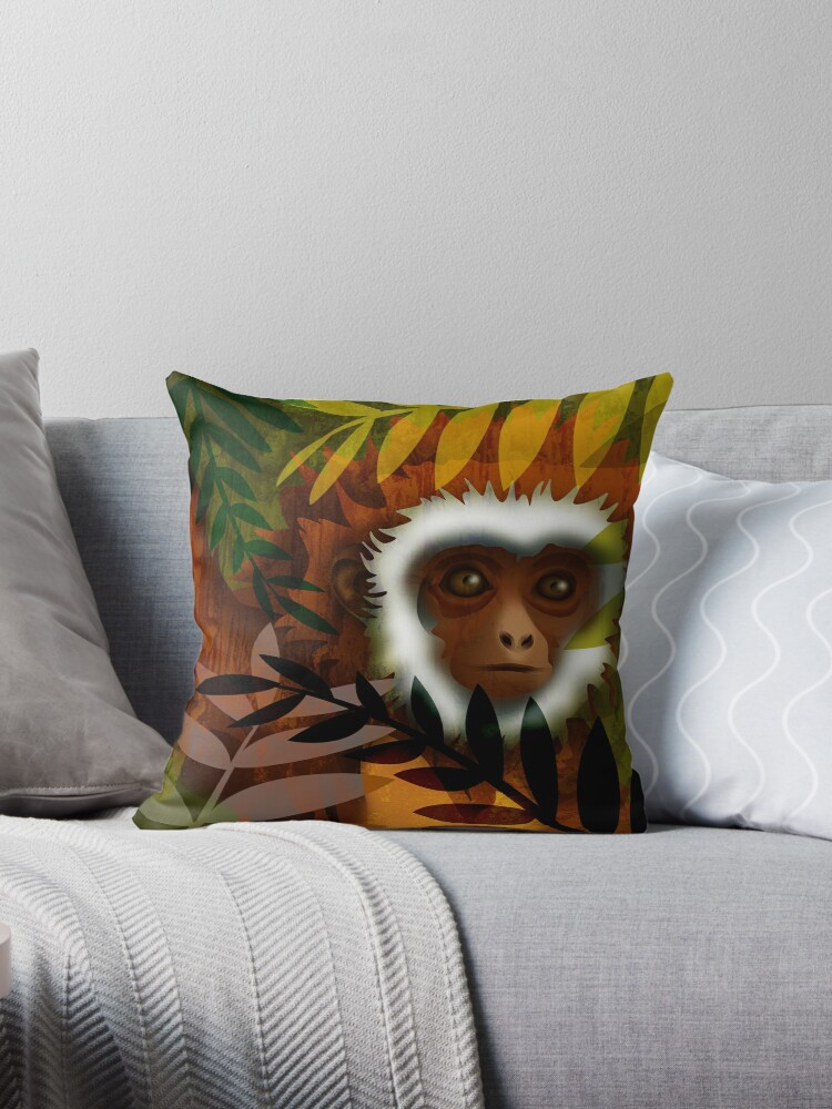 A Monkey in the Night by camsartshop