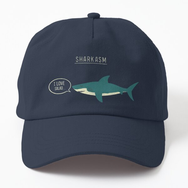 Sharkasm Dad Hat