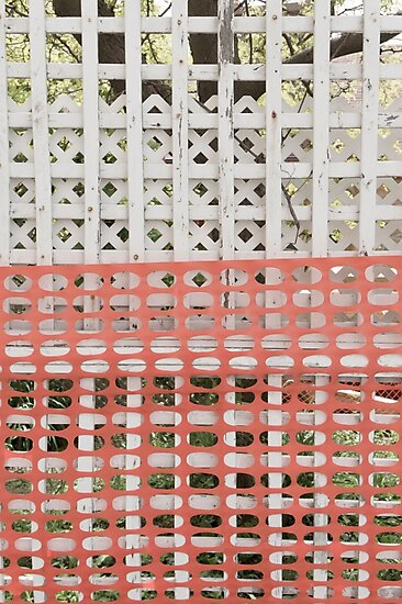 Protected (protection zone safety fence pattern) by YLArt
